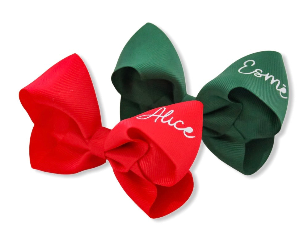 NEW Style Personalised Large Boutique Bows