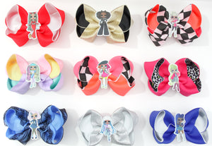 LOL 'OMG' Large Boutique Bows - All Characters