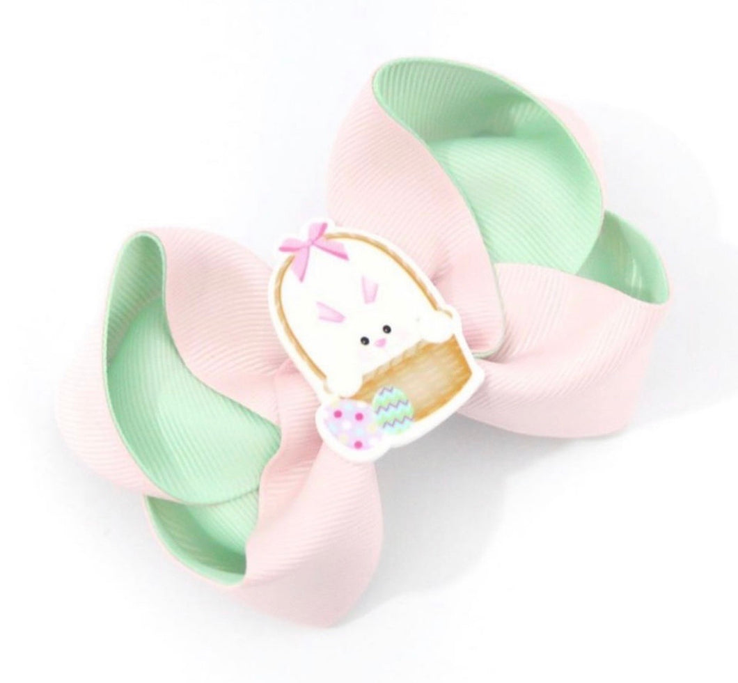 Easter Bunny Large Boutique Bow