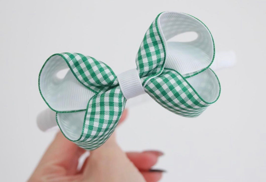 Gingham Small Boutique Bows