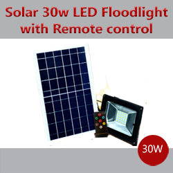 Pack Of 4 Solar 30w Led Flood Light With Remote Control R750 Each