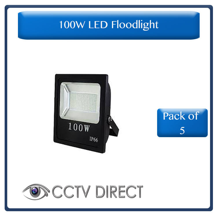 100W LED Floodlight, pack of 5 ( R380 each)