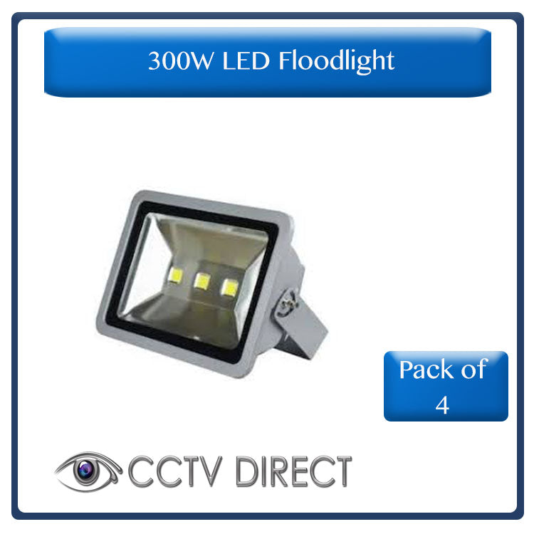 ** Pack of 4** 300W LED Floodlight ( R1099 each)
