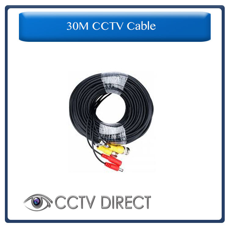 30M CCTV Cable with connections