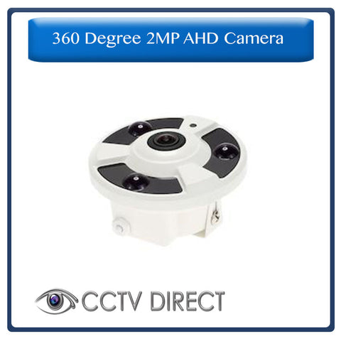 360 Degree 2MP AHD camera with night vision