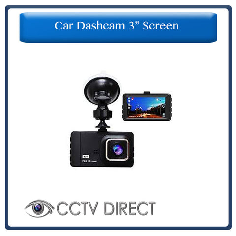 "High Quality Full 1080P HD Dash cam with 3"" screen, Night vision"