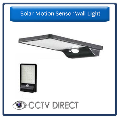 42 LED Solar motion sensor wall light