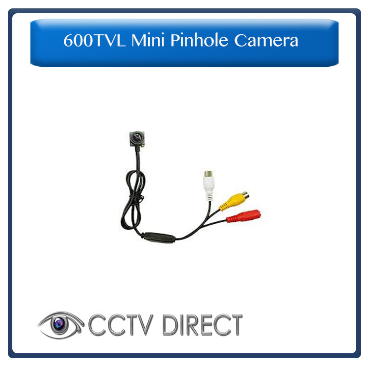 600Tvl Mini Pinhole colour camera with microphone