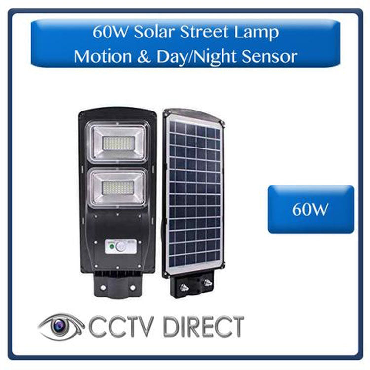 ** Pack of 10 ** 60W Solar Street Lamp With Motion Sensor & Day/Night Sensor ( R630 each )