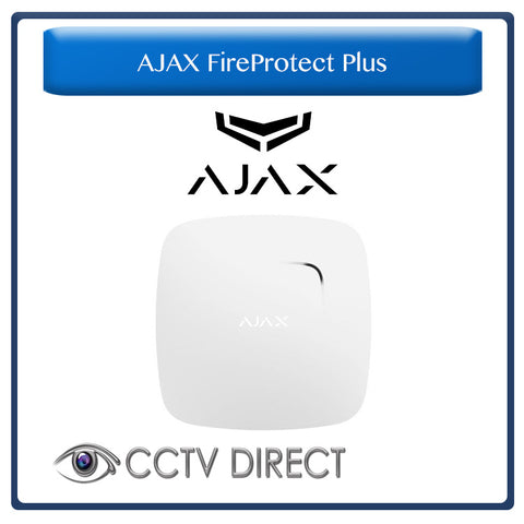 Ajax FireProtect Plus - Smoke, Carbon Monoxide and Heat Detector