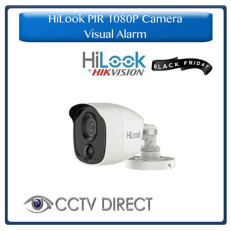HiLook by Hikvision 1080p Bullet camera with PIR and Alarm - 20m Night vision