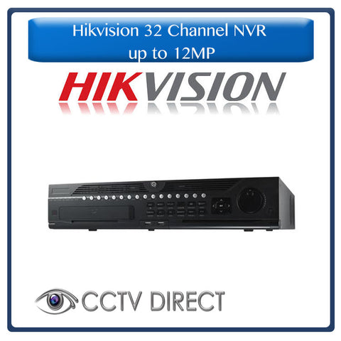 Hikvision 32 Channel NVR up to 12MP 4K -DS-9632NI-I8