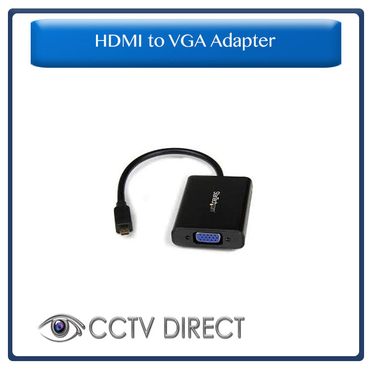 HDMI to VGA & Audio mini adapter