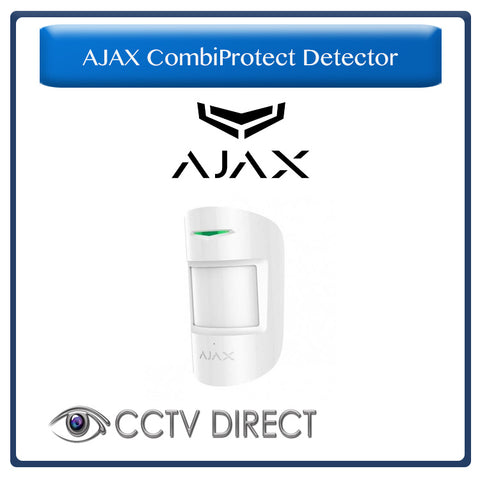 Ajax CombiProtect - Wireless Indoor Motion and Glass Break Detector