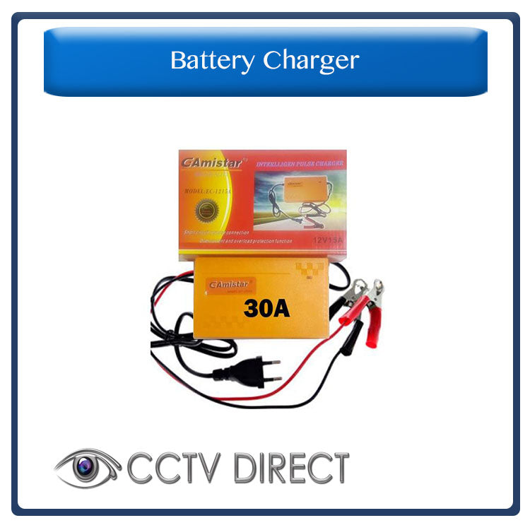 12V 30A INTELLIGENT PULSE CHARGER