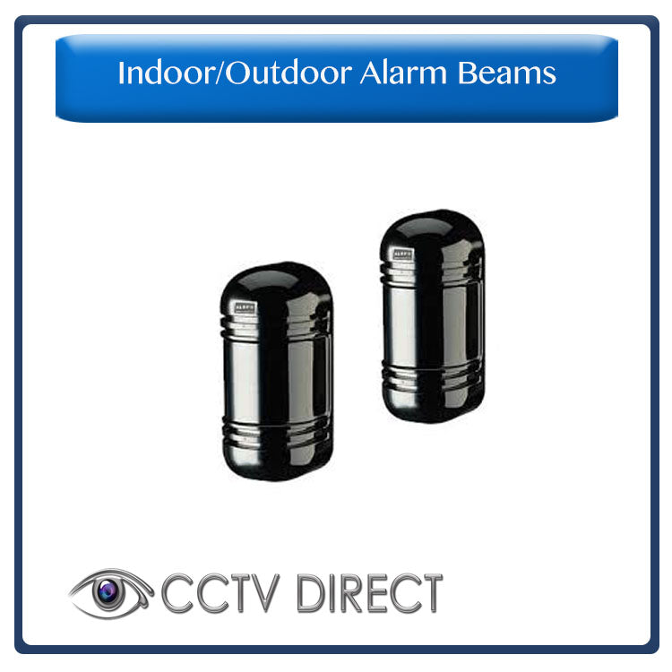 Indoor 300m Outdoor 100m Alarm 2 Beam Photoelectric Infrared Detector