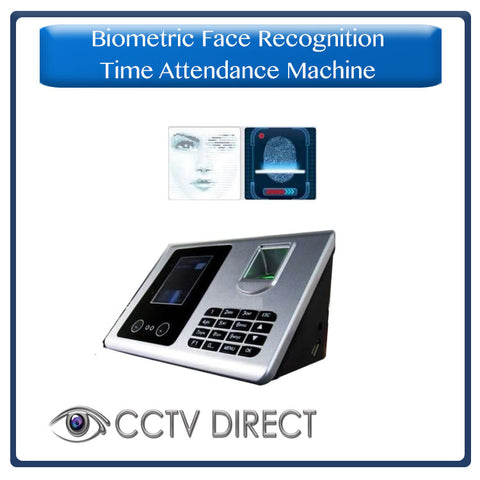 Biometric Face Recognition & Fingerprint Time Attendance System