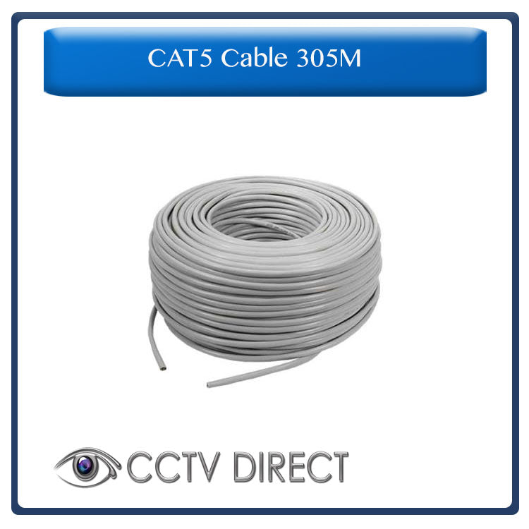 CAT5 cable 305M, easy pull box