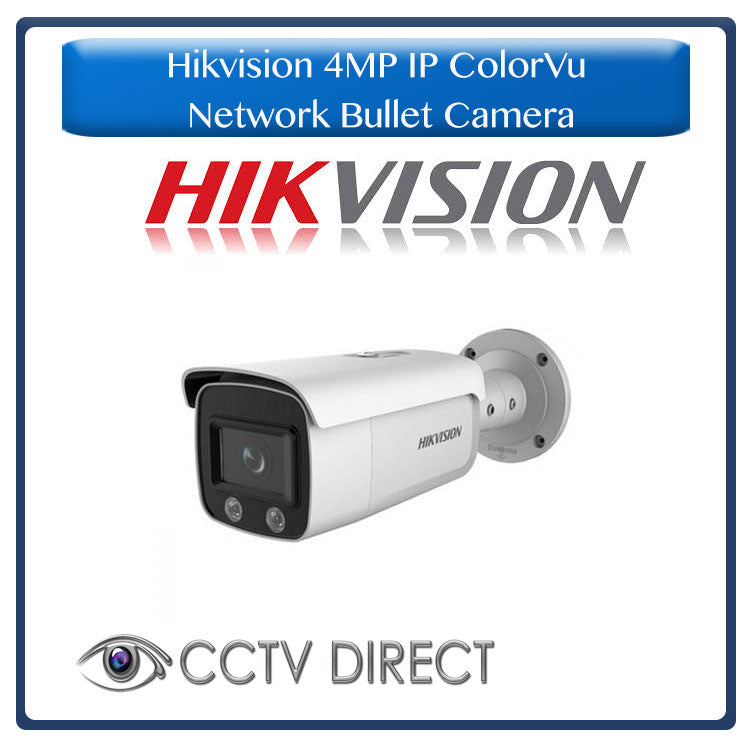 Hikvision 4MP IP ColorVu Fixed Bullet Network Camera