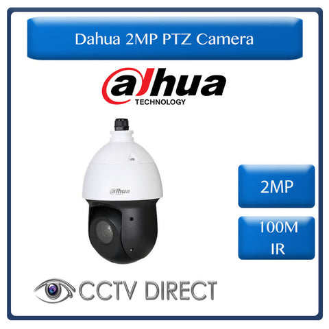 Dahua Technology  2MP 25x zoom Starlight IR PTZ HDCVI Camera, 100m IR