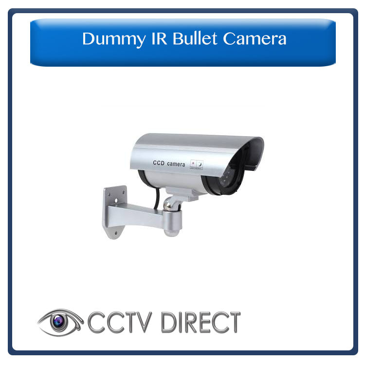 Realistic Looking Dummy IR CCTV Camera