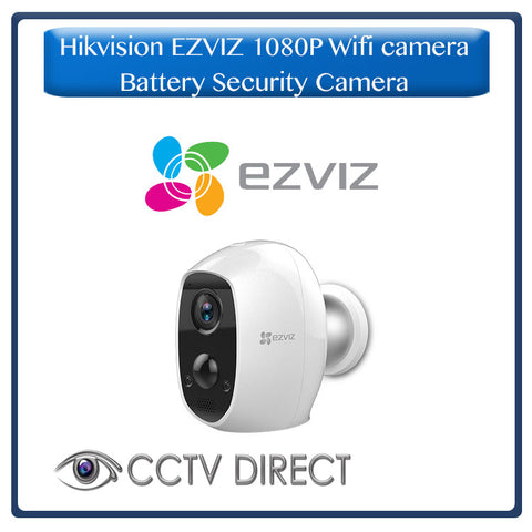 Hikvision EZVIZ 1080P, 100% Wire-Free Full HD Battery Security Camera