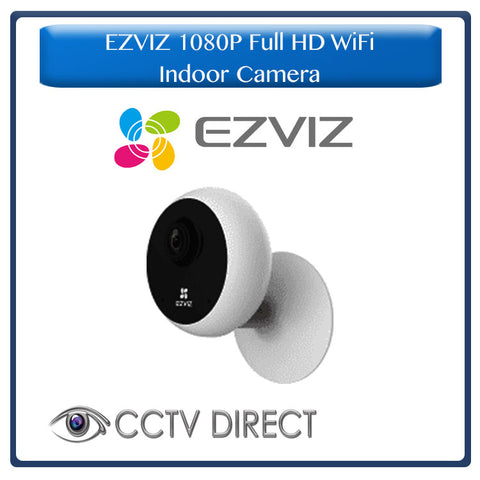 EZVIZ 1080p Full HD Indoor Wifi camera, Night vision, 2 way audio