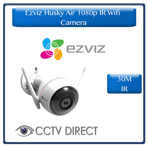 Hikvision Ezviz Husky Air 1080p Full HD Outdoor WiFi IP Camera - 2.8mm