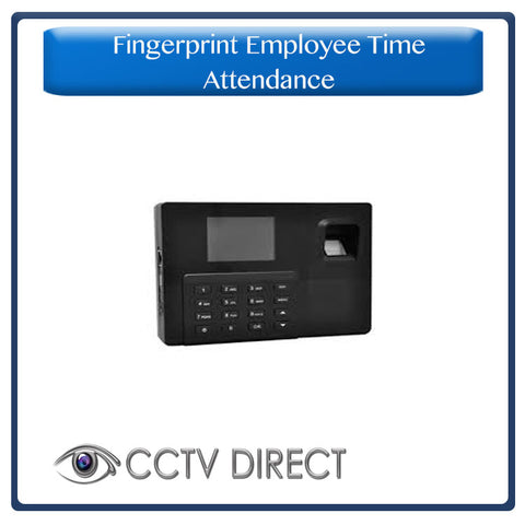 Fingerprint Employee Time Attendance Entry time clock System With USB