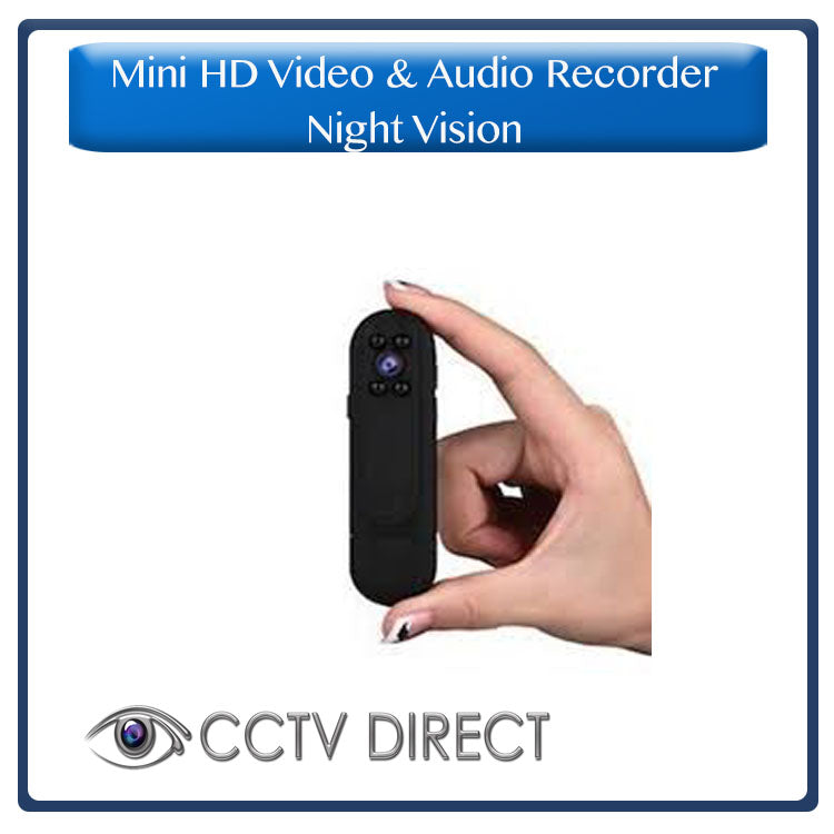 Mini HD Video and Audio recorder with night vision