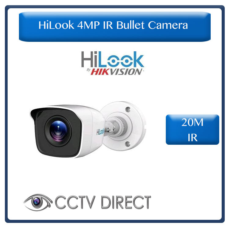 HiLook by Hikvision 4MP HD Exir camera, 20m Night vision