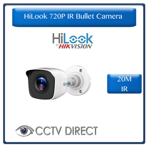 HiLook by Hikvision 1MP 720P HD Exir camera, 20m Night vision