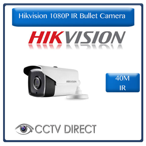 Hikvision 2MP IR Bullet Camera , 40M Night Vision, 3.6mm  (DS-2CE16D0T-IT3)