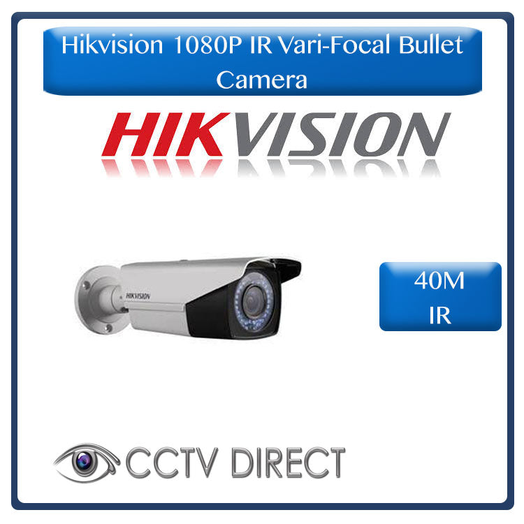 Hikvision Vari Focul 2MP 1080P Bullet camera, 40M night vision, 2.8-12mm