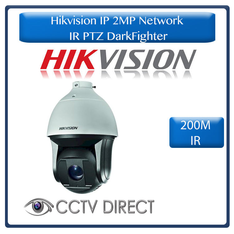 Hikvision IP 2MP  Network IR PTZ DarkFighter 25 x zoom 200M IR