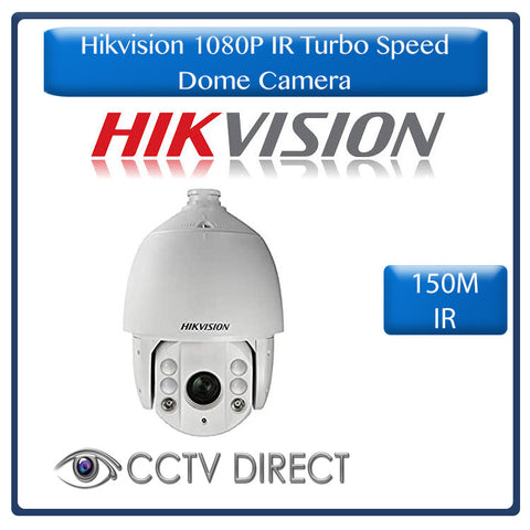Hikvision 1080P 2MP IR Turbo 7-Inch Speed Dome, 32 x Zoom, 150m IR