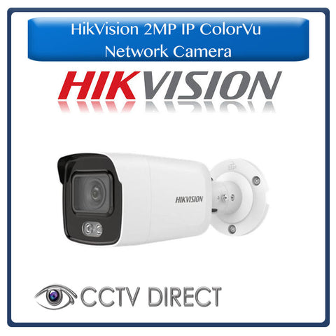 Hikvision 2MP IP ColorVu Fixed Bullet Network Camera