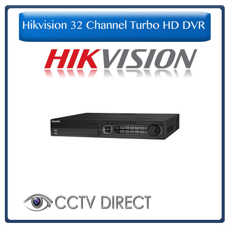 Hikvision - 32-Channel 1080p HD-TVI Turbo DVR