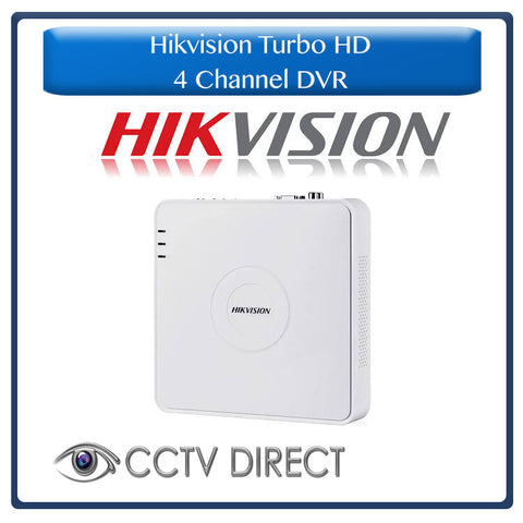 Hikvision Turbo HD 4 channel DVR