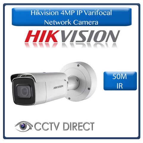 Hikvision 4 MP Powered-by-DarkFighter Motorized Varifocal Bullet Network Camera