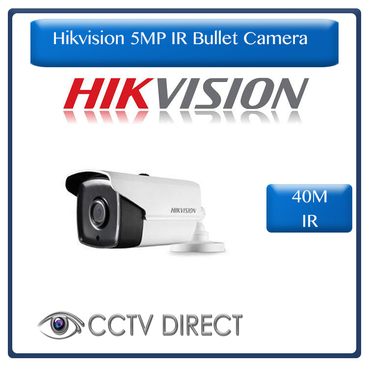 Hikvision 5MP IR Bullet Camera , 40M Night Vision, 3.6mm