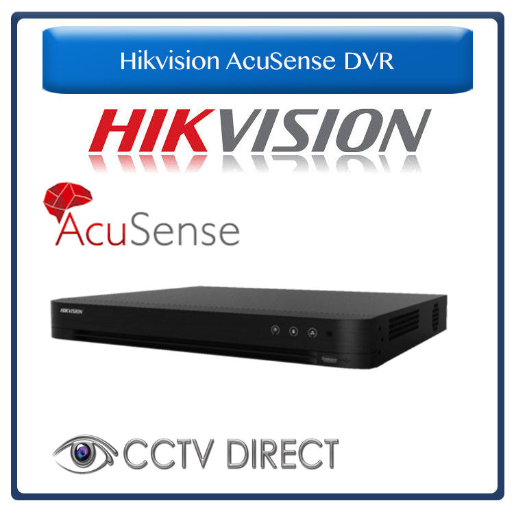 Hikvision 8ch AcuSense DVR - 4 Channel False alarm filter
