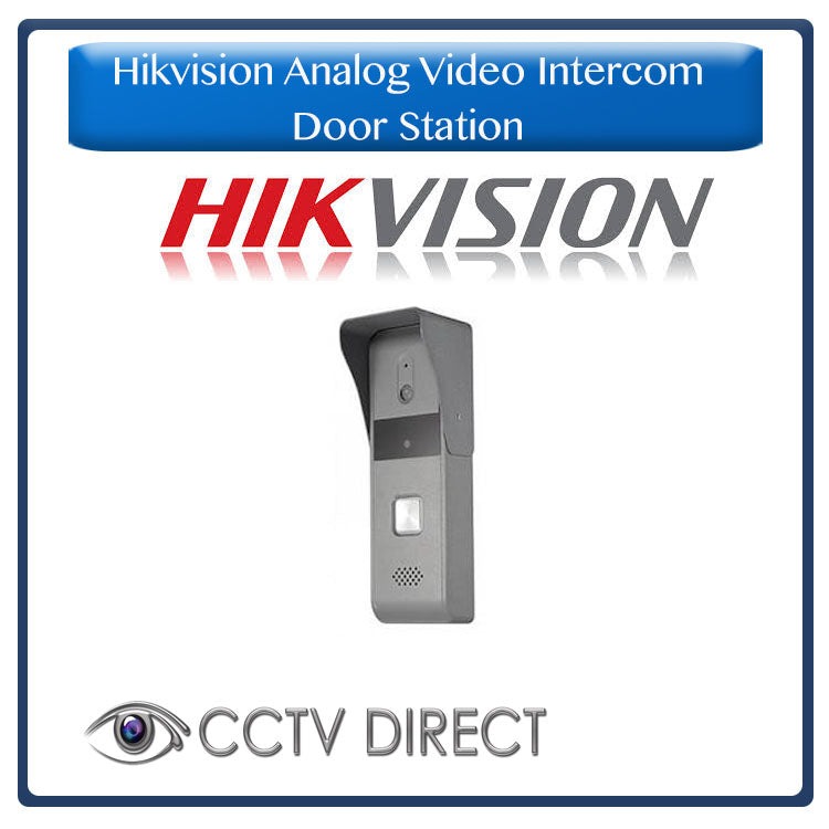 Hikvision Analog Video Intercom Water Proof Door Station
