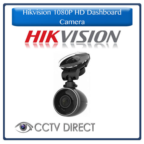 Hikvision 1080P HD Dashboard Camera with built in Wifi, GPS, Bluetooth & G Sensor