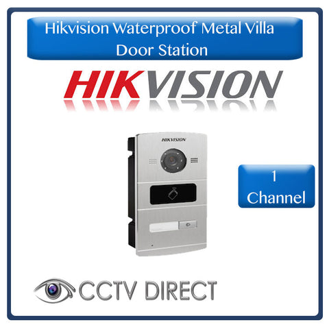 Hikvision Waterproof Metal Villa Door Station - 1 channel