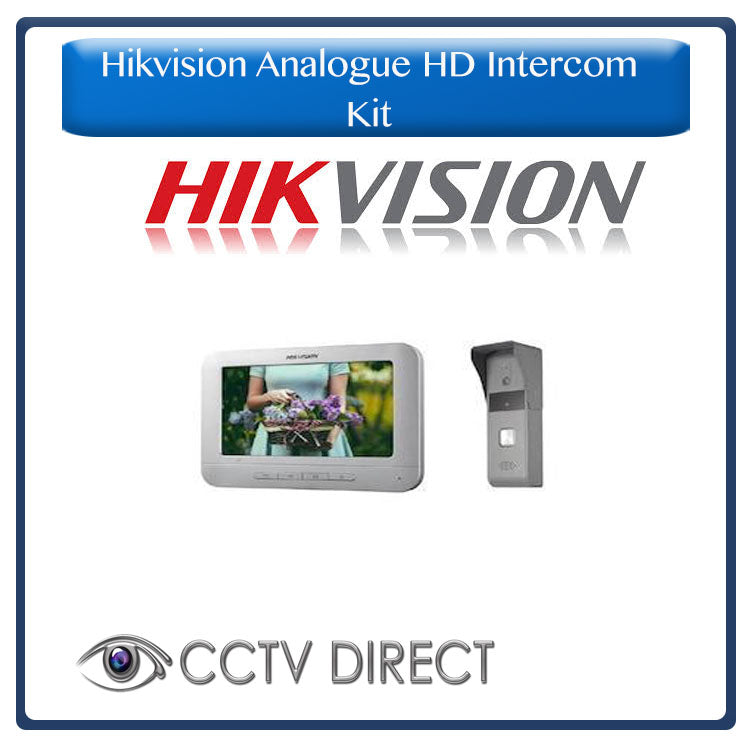 HIKVISION Analogue HD Intercom Kit (LCD Indoor Station + Door Station)