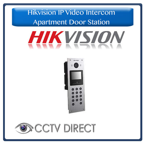 Hikvision IP Video Intercom – Apartment Door Station