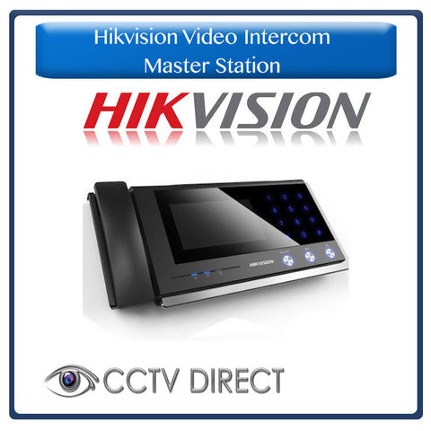 Hikvision Video Intercom Master Station