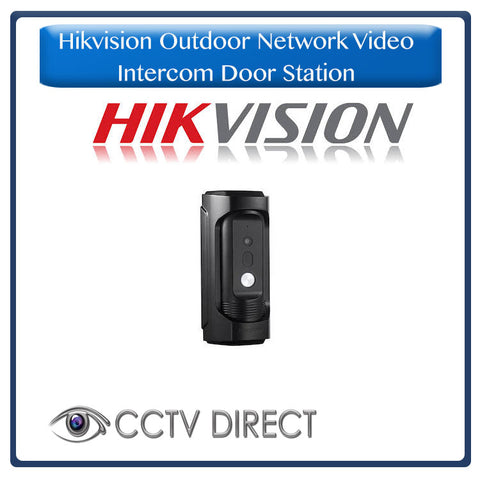 Hikvision Outdoor Network Video Intercom Door Station