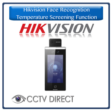 Hikvision Face recognition - Access control - temperature screening function- Mask wearing function